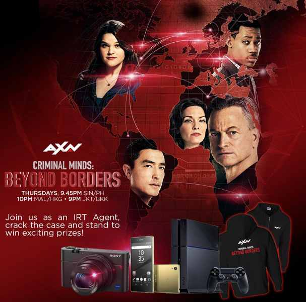 win exciting prizes including a Cyber-shot DSC-RX100 IV, a Sony Xperia™ Z5 and a Sony PlayStation ® 4 at AXN Asia