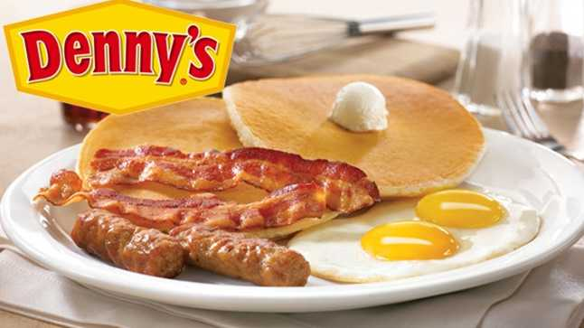 #Free Grand Slam on your birthday at Denny's