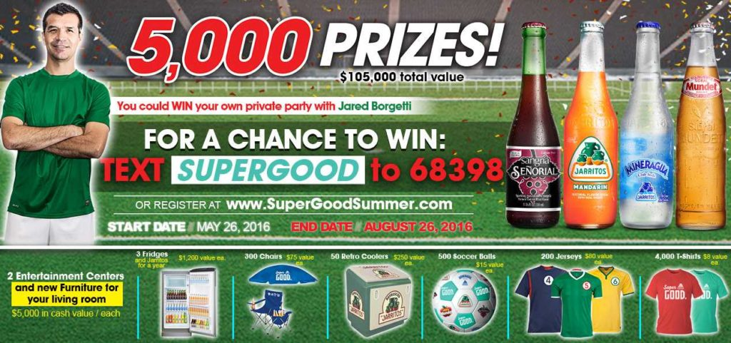 NOVAMEX SUPER GOOD SUMMER SWEEPSTAKES