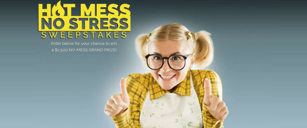Colman's Hot Mess – No Stress Sweepstakes