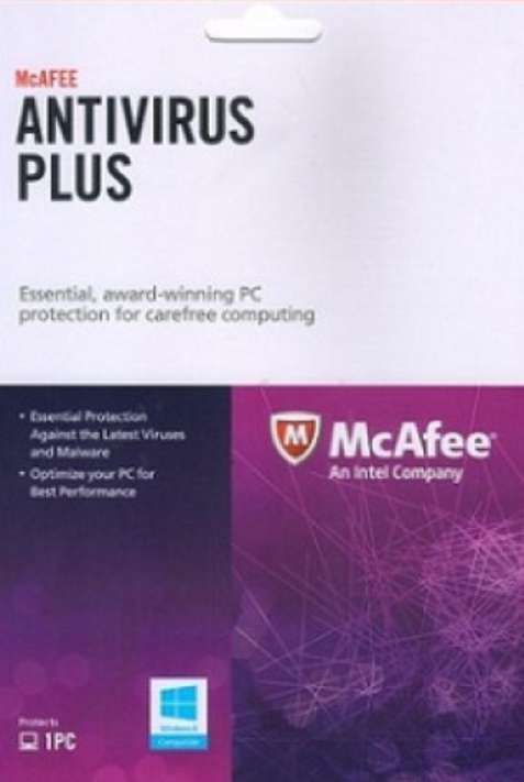 #Free McAfee AntiVirus Plus