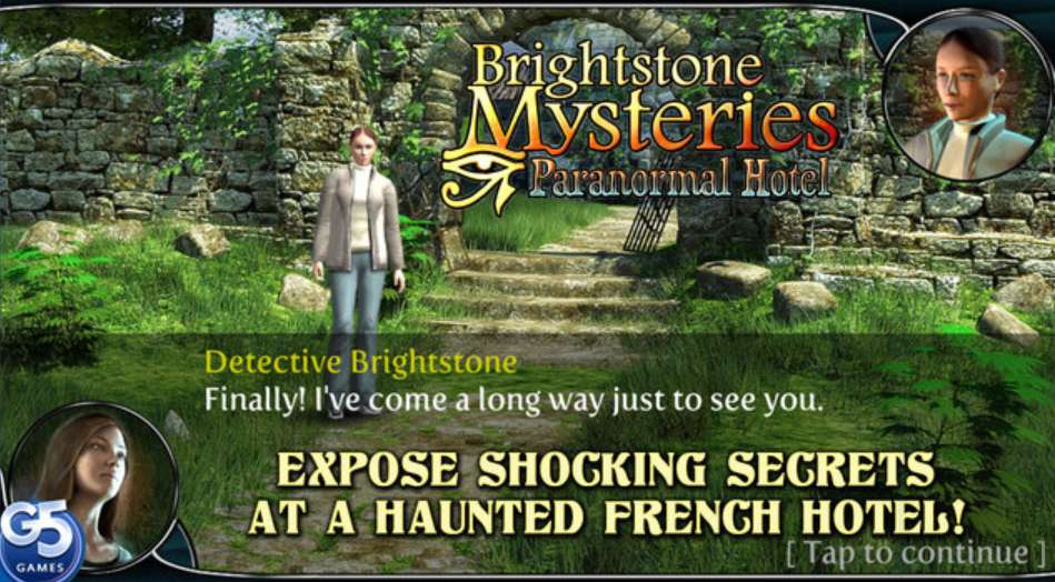 #Free iOS Game Brightstone Mysteries Paranormal Hotel