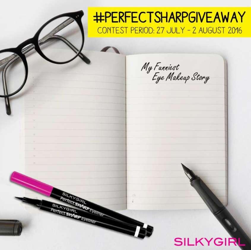 #PerfectSharpGiveaway @ SILKYGIRL Singapore