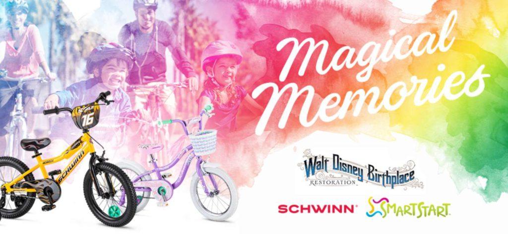 SCHWINN® MAGICAL MEMORIES GIVEAWAY