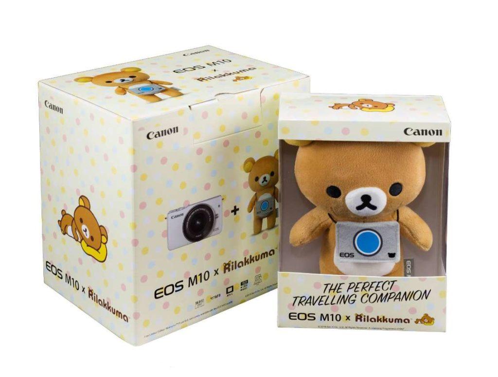 #WIN a limited edition EOS M10 Rilakkuma box set at Juice Singapore
