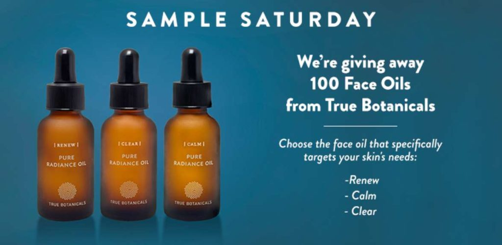 Win A Free Face Oil from Botanical
