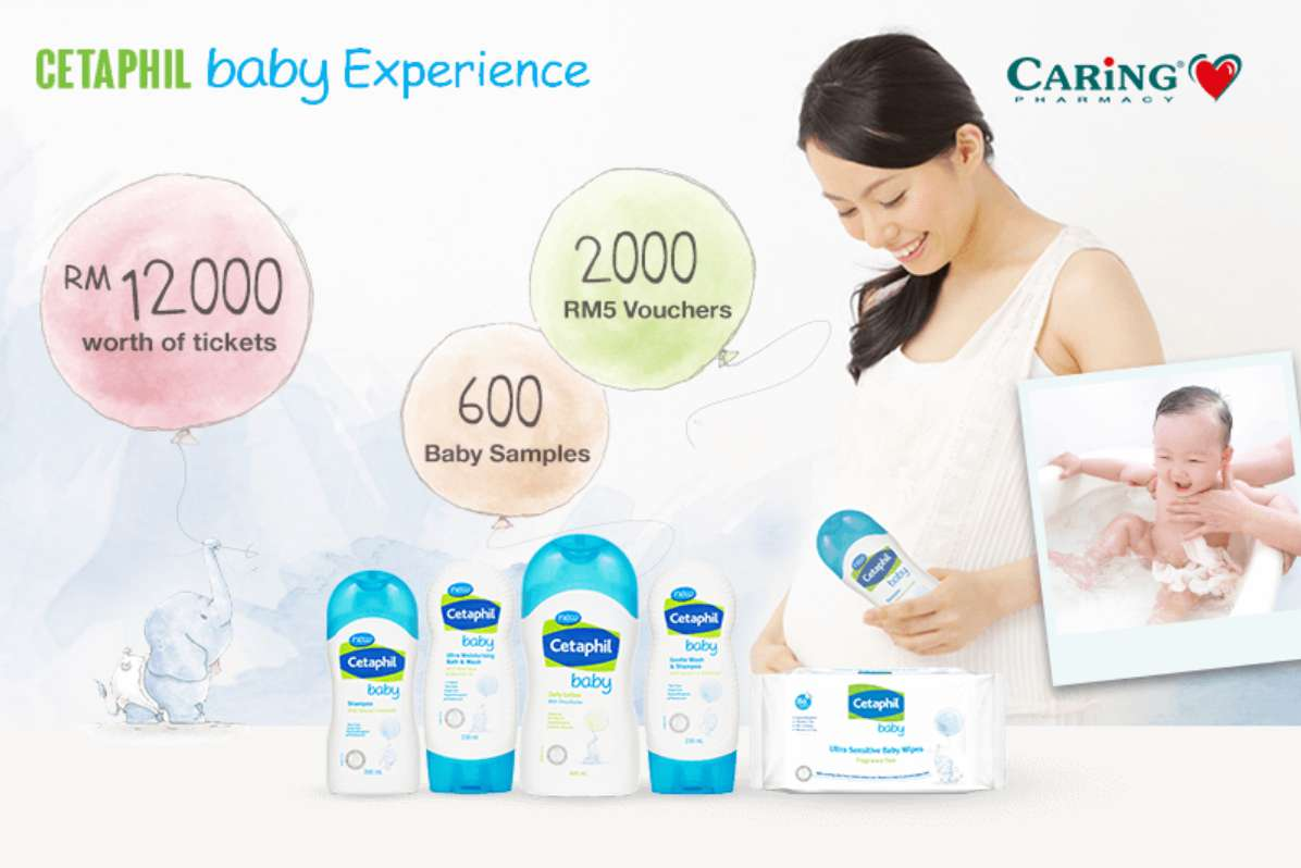 Cetaphil Baby Experience Contest Giftout Free Giveaways Special Package Mom And Malaysia