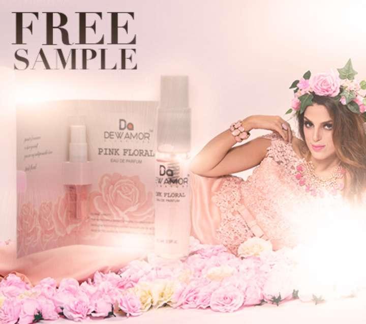 #FREE Dewamor Pink Floral Sample