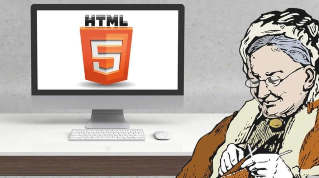 #Free #Udemy Course on HTML 5 For Grandmothers - Learn Web Building like knitting