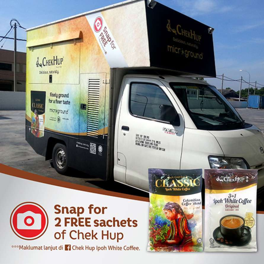 Snap for 2 FREE Sachets of Chek Hup