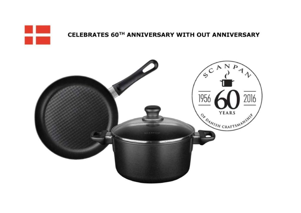 #WIN special 60th Anniversary edition consist of a Induction friendly Fry Pan & Dutch Oven from SCANPAN