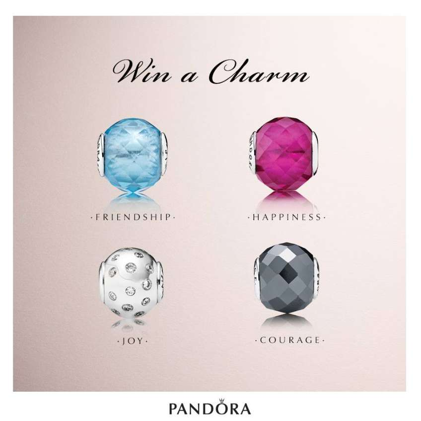 #Win a pair of charms at Pandora Singapore