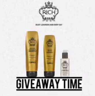 Win one travel size 80ml along with a Hair Repair treatment and RICH Pure Luxury Intensive Hair Treatment at Suzanni Beaute