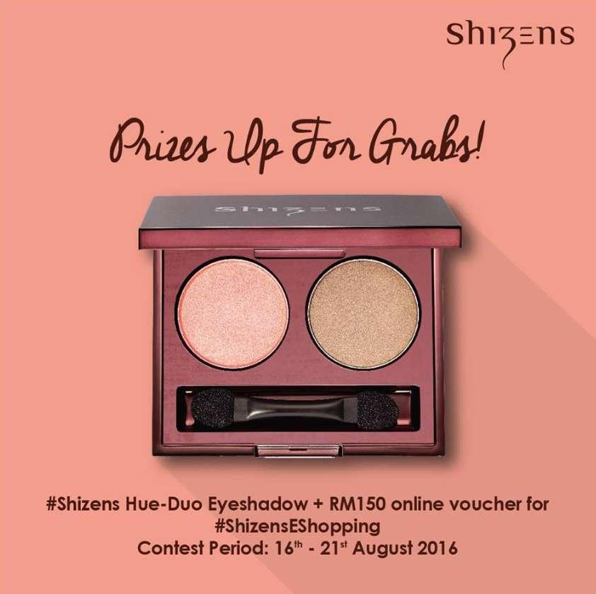 #Win this beautiful #Shizens Hue-Duo Eye Shadow and RM150 online voucher for #ShizensEShopping!