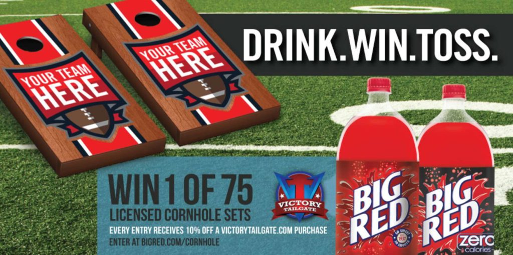 """Big Red's """"Drink. Win. Toss."""" Giveaway"""