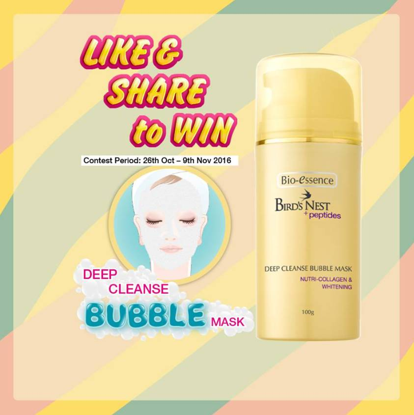 simply-like-and-share-this-post-and-stand-a-chance-to-win-a-bio-essence-birds-nest-deep-cleanse-bubble-mask-at-watsons-singapore