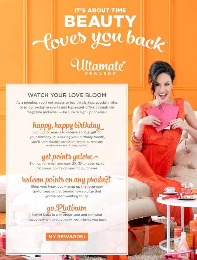 Free Gift On Your Birthday Ulta Beauty USA