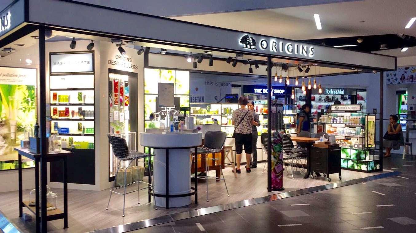 origins singapore