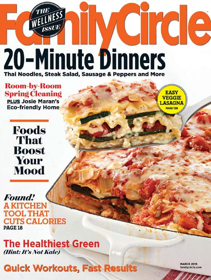 family circle sweepstakes giveaway one year subscription to family circle magazine 9768