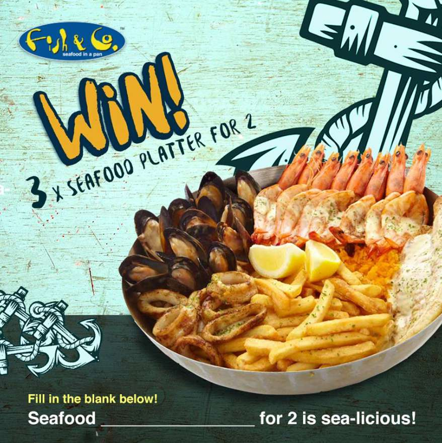 Win a Seafood Platter for 2 at Fish & Co  Malaysia