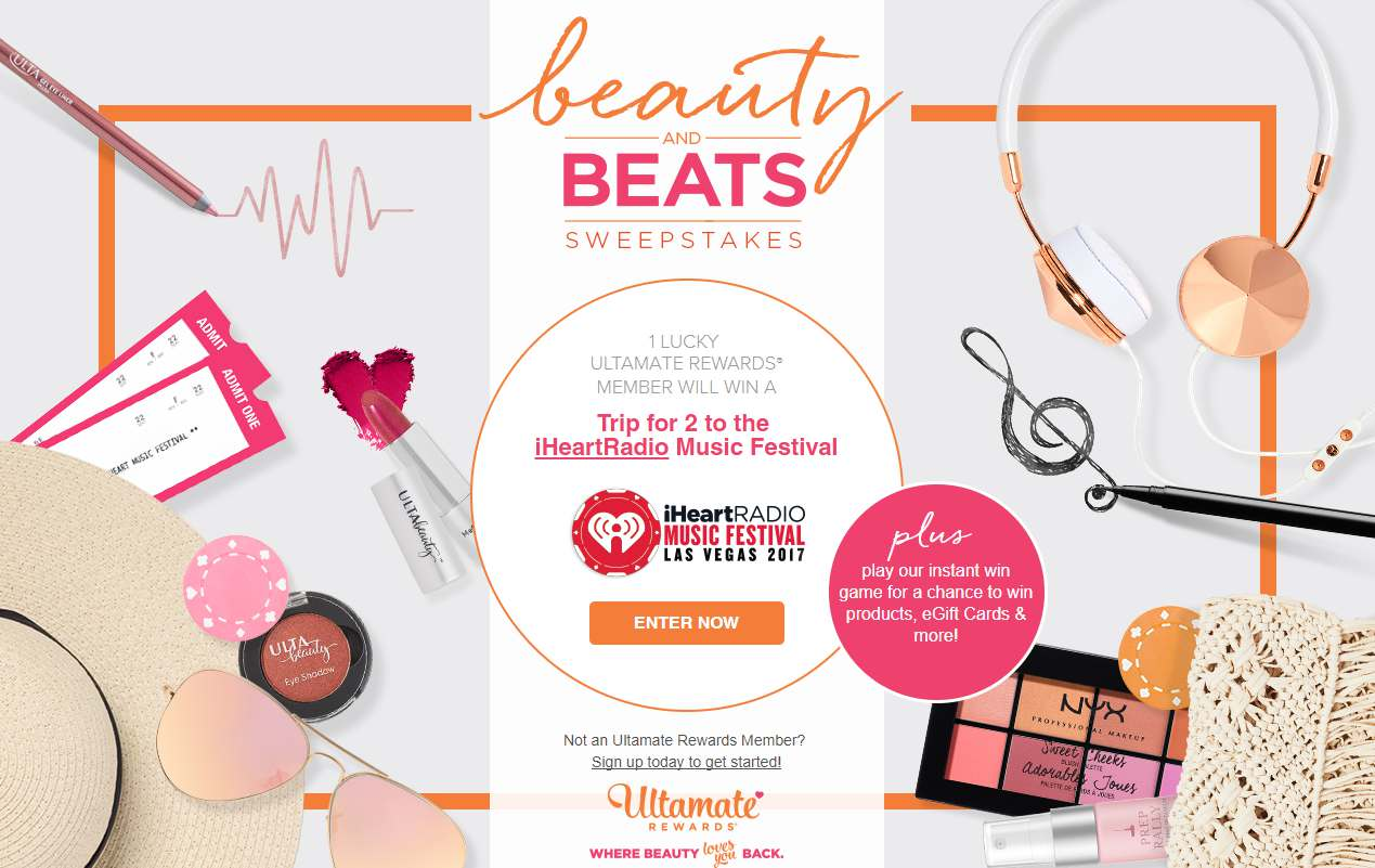 Ulta Beauty And Beats Sweepstakes USA