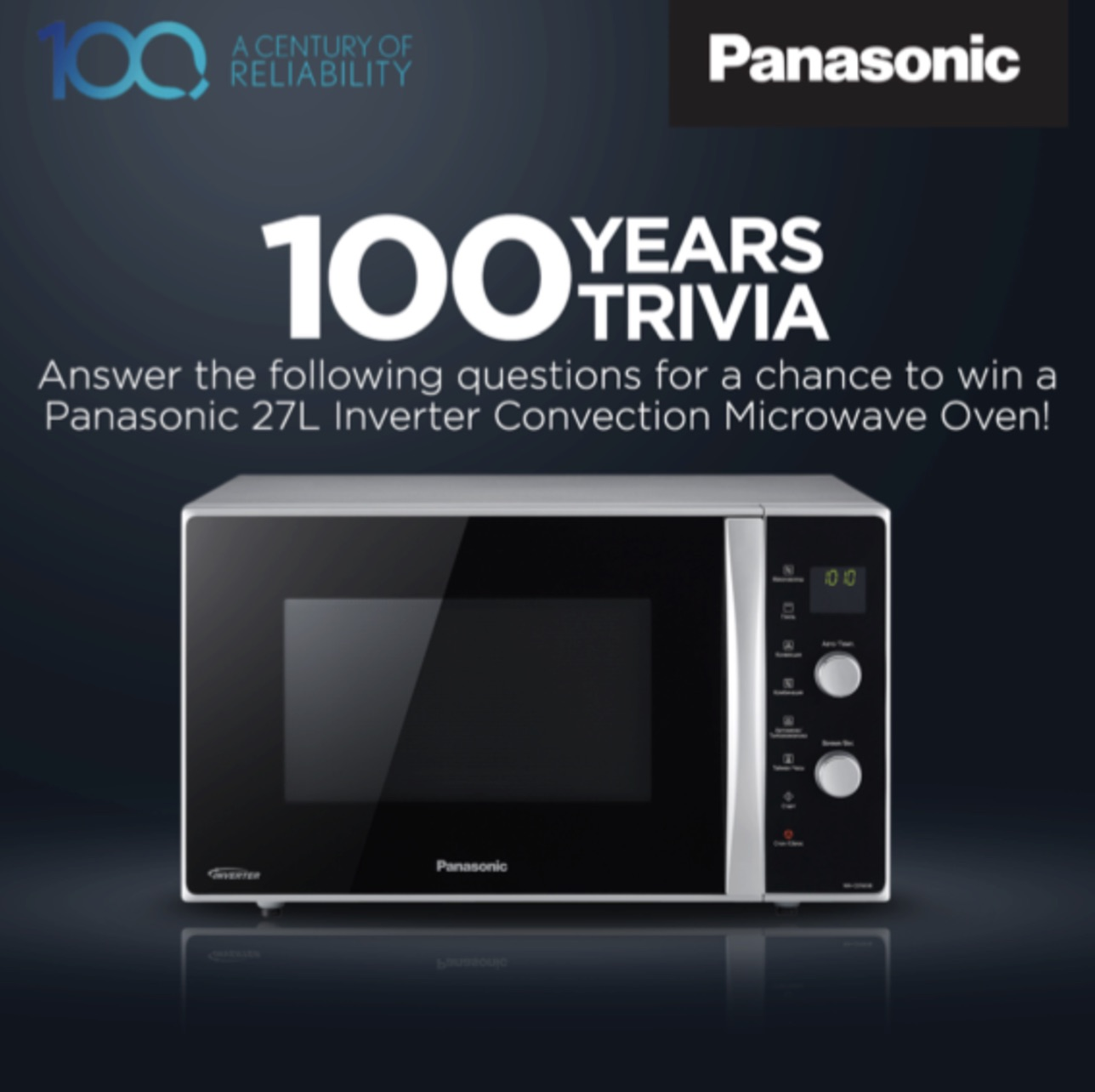 Win Microwave Oven from Panasonic #Malaysia - #GIFTOUT #FREE